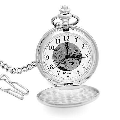 Personalised Engraved Pocket Watch Wedding Gift Best Man Usher Father Of Groom