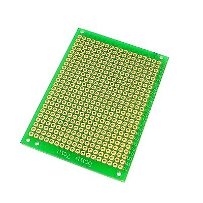 Fiber Glass 5 x 7cm Soldering Circuit Board 2.54mm Universal Single-Sided PCB