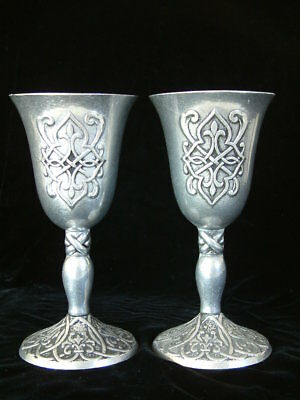 Forevermore Celtic Wine Cup Chalices by Kimberly McSparran Carson Home Accents