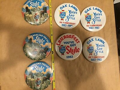 old style beer pins