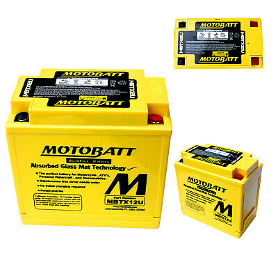 Honda VFR 750 FN RC36 1992 CTX12-BS Motobatt Motorcycle Battery Upgrade
