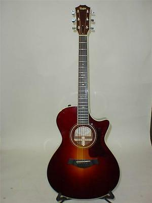 Taylor 712CE Grand Concert Acoustic Electric Guitar FREE TUNER CAPO 2012