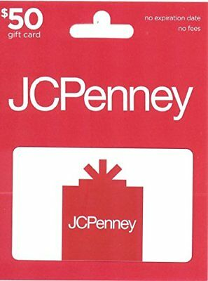 Unused JcPenney $50 Gift Card + FREE SHIPPiNG & Tracking