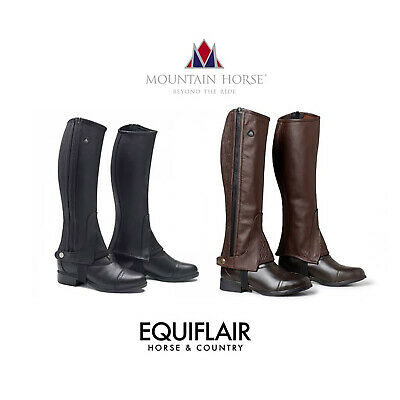 Mountain Horse Soft Rider Legging Half Chaps Gaiters