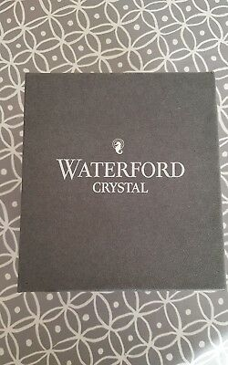 waterford crystal small glass vase with box