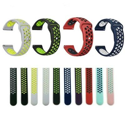 Replacement Silicone Sports Watch Band Strap Bracelets for Samsung Gear S3 22mm