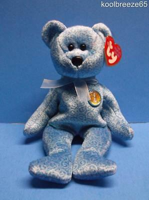 Ty Beanie Baby CLASSY the People's Choice Bear 2001 Plush Toy Hang Tag Animal