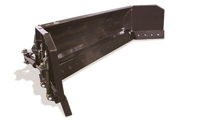 """156"""" (13') Hydraulic Snow Blade Pusher Combo Skid Steer Loader Attachment Bobcat"""