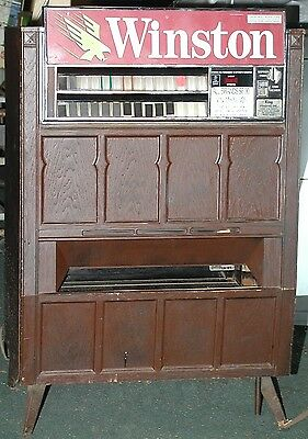 Automatic Products Smokeshop Cigarette Vending Machine - Used - Home Decor Only