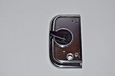 End Plate w/crank for Hasselblad A24 Film magazine chrome NEW PART