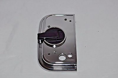 End Plate w/crank for Hasselblad  Film magazine chrome NEW PART