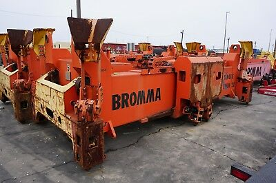 (6) Bromma Crane Spreaders Container Intermodal (1) Lot in South Louisiana