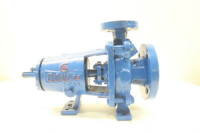 Goulds Stainless Centrifugal Pump 3X1-1/2-6In D594030