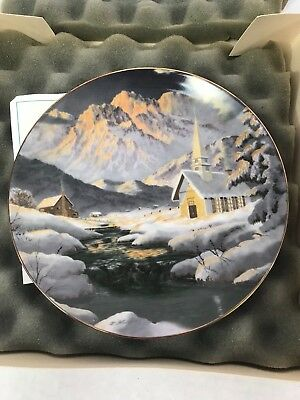 Royal Bayreuth 1794 FIRST LIMITED EDITION CHRISTMAS PLATE 1977 in 24K GOLD