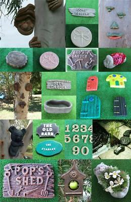 Bulk Starter Mould Collection - 25 Moulds for Concrete Garden Ornaments Mold