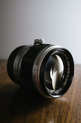 Canon 50mm f/1.4 LTM Rangefinder Lens with Leica M Adapter   Good Condition