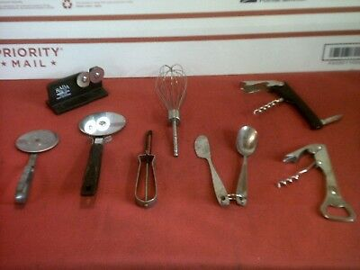 mixed lot  kitchen  items- for crafts- steampunk