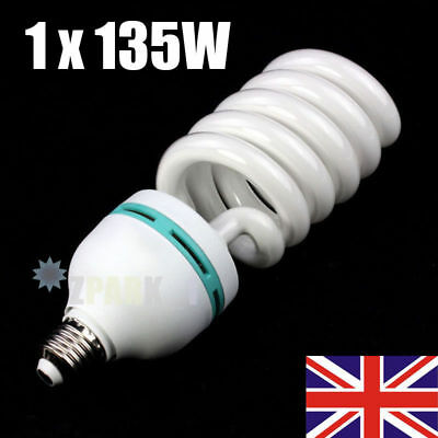 Photo Studio 135W 5500K E27 Bulb Lighting Photography Daylight Lamp Energy Save