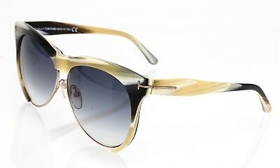 644be5708f TOM FORD WOMEN S Silver Sunglasses with box Leona TF 365 38G 59mm ...