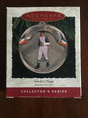 Hallmark keepsake Ornament Satchel Paige 1996