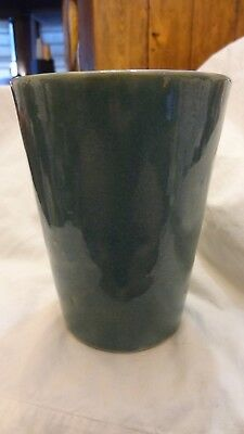 Large Vintage Zanesville Stoneware Pottery Vase Mission Arts & Crafts