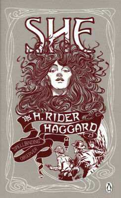 Red classics: She: a history of adventure by H. Rider Haggard (Paperback /