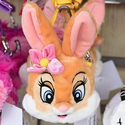 New Tokyo Disney Resort Miss Bunny from Bambi Plush ID Pass & Coin Case