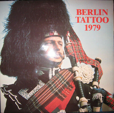LP Band Of The Royal Air Force Germany Berlin Tattoo 1979 HQ Berlin Field For