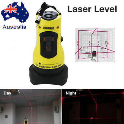 360° Self Levelling Auto Rotary Laser Level Dual Axis  & Hard Case AU STOCK