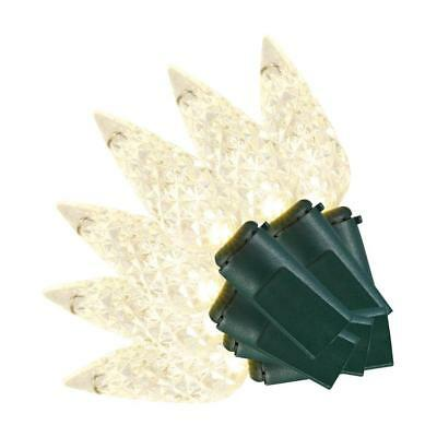 50L LED FACETED C5-WARM WHITE Home Accents Holiday $6.00 shipping any qty