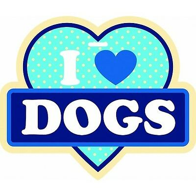 New I love Dogs Little Gifts Luggage Tag for Luggage, Purse, Pet Carrier
