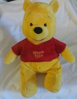 WINNIE THE POOH PLUSH FROM THE DISNEY STORE 14 in