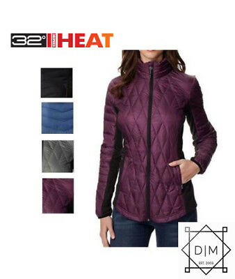 NEW 32 Degrees Heat Women's Ultra Light Down Jacket VARIETY of sizes and colors!