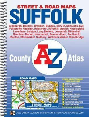 Suffolk County Atlas by Geographers' A-Z Map Company 9781843488422
