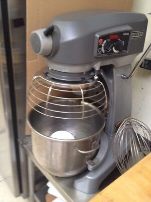 HOBART HL200 Legacy Planetary 20 Qt Stand Dough Mixer w/accessories and SS Table
