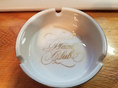 Sands Plaza Club Casino Ashtray Historic Las Vegas Gaming  Collectible