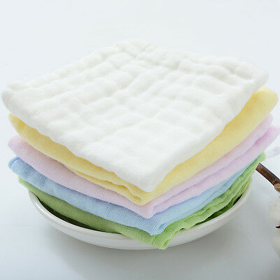 Nontoxic Bamboo Cotton Cloth Diaper Ecological Nappy Liner Inserts Washable HQ