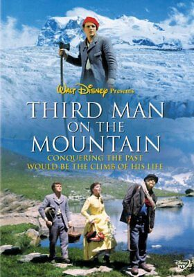 THIRD MAN ON THE MOUNTAIN New Sealed DVD Disney