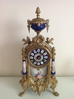 antique 19th century french clock Working