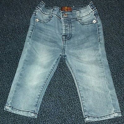 7 For All Mankind Baby Blue Jeans Size 12 Months