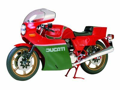 Tamiya 1/12 Motorcycle Model Kit No.19 DUCATI 900 Mike Hailwood Replica 14019