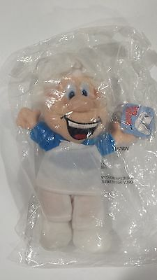 1997 General Mills GM Breakfast Babies Beanie Wendell The Baker Beanbag Chef Toy
