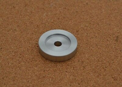 "45 rpm Record Turntable Spindle Adaptor centre  Aluminium for 7"" Singles Records"