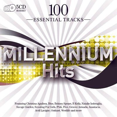 Various - 100 Essential Millennium Hits - Various CD JKVG The Cheap Fast Free