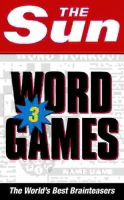 The Sun Word Games Book 3: Bk. 3 by Sun, The Paperback Book The Cheap Fast Free