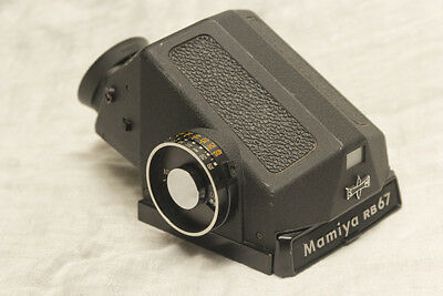 Mamiya RB 67 Metered CDS Eye Level Finder EXCELENT WORKING CONDITION