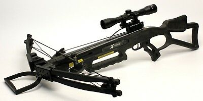 Carbon Express X-Force 300 Crossbow w/ Scope and Rope Cocker FREE SHIPPING