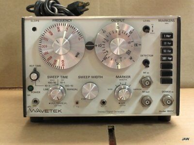 Wavetek Model 1801C Rf Sweep-Signal Generator.