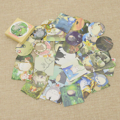 My Neighbor Totoro Cute Kawaii Paper Stickers DIY Scrapbook Cards Decoration 46x