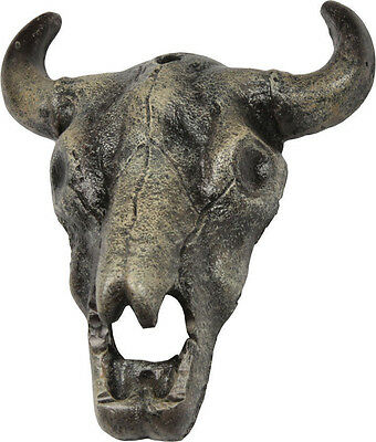 STEER COW SKULL BEER BOTTLE OPENER Wall Mount Cast Iron Country Western Decor